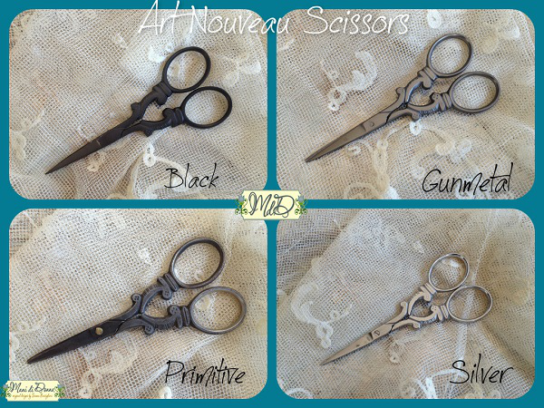 Art Nouveau Scissors