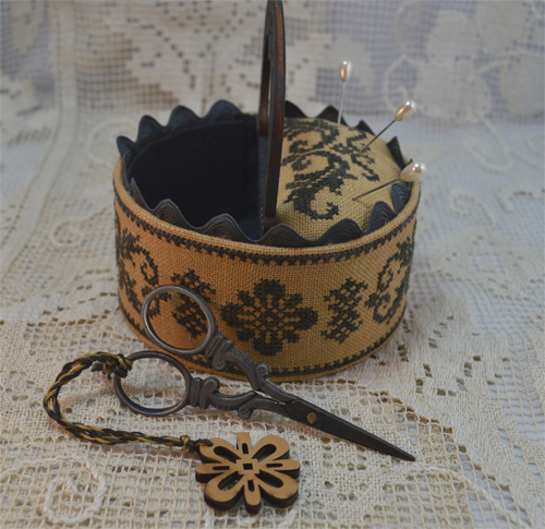 Black Sewing Box laterale