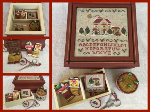 Christmas Eve Sewing Box