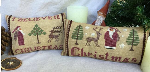 Christmas Pillows # 1