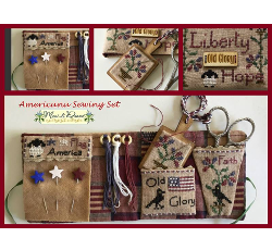 Americana Sewing Set