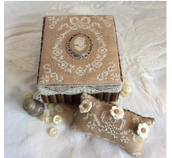 Ancient Lady – sewing box
