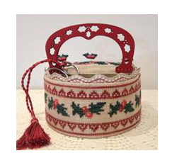 Holly Sewing Basket