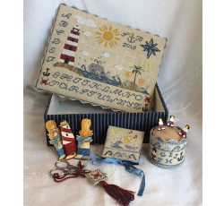 Mermaids song sewing box