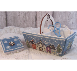 Winter days sewing basket